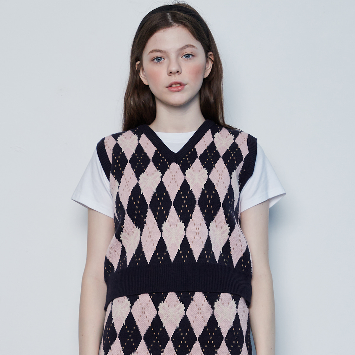 IN BUTTERFLY KNIT VEST(PINK)
