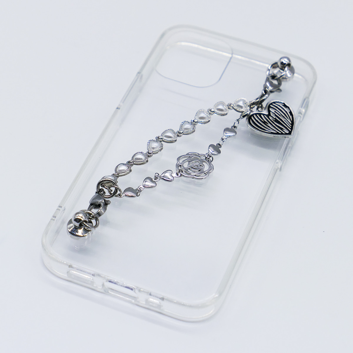 IN ROSE CHAIN CASE(SILVER)